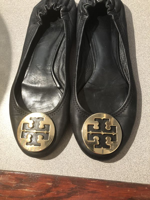fc94fc2fd4a0 Tory Burch Minnie Travel Logo Ballet Flat Size 9.5M for Sale in ...