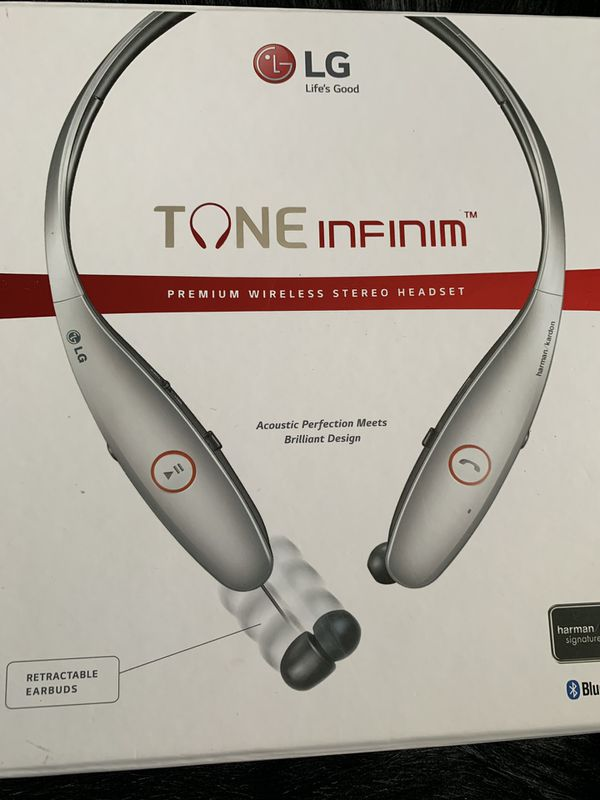 6f59cb8e104 Bluetooth Lg retractable headphones for Sale in Santa Fe, NM - OfferUp