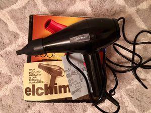 Elchim 2001 High-pressure Hair Dryer with original packaging &manual for Sale in Tampa, FL