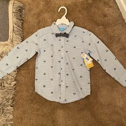 Mickey Mouse Toddler Shirt 5T New With Tags  Thumbnail