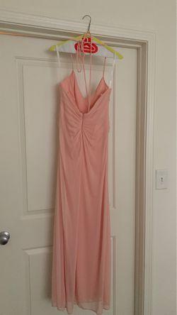 David's bridal halter dress size 6 Thumbnail