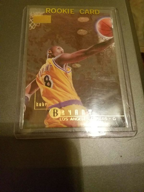 1996 Kobe Bryant Rookie Card For Sale In Dallas Tx Offerup