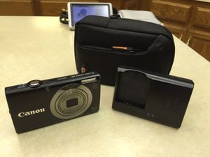 Canon PowerShot A2300 16.0 MP Digital Camera with 5x Optical Zoom (Black), used for sale  Claremore, OK