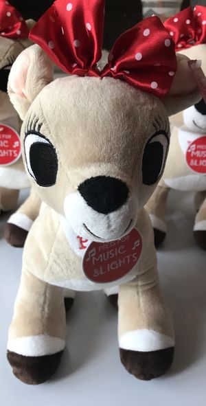 Rudolph girlfriend Clarice plush for Sale in Bothell, WA
