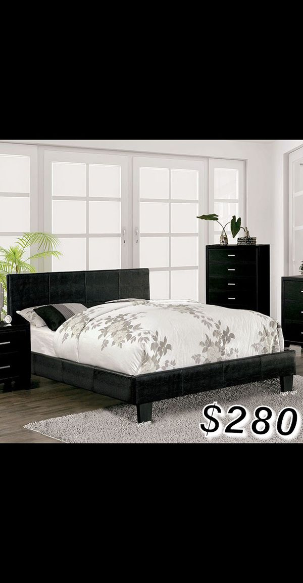 FULL SIZE BED FRAME AND MATTRESS INCLUDED for Sale in Los ...