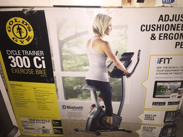 Golds Gym Cycle Trainer 300 Ci exercise bike never been used for Sale in  Marietta, GA - OfferUp