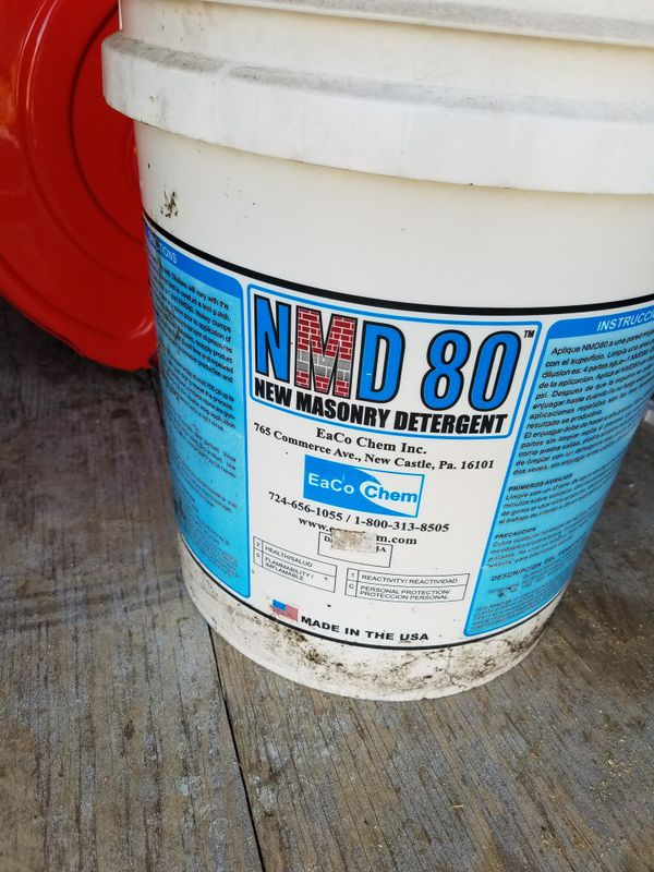 c7e51274d Nmd 80 masonry detergent for Sale in Bath