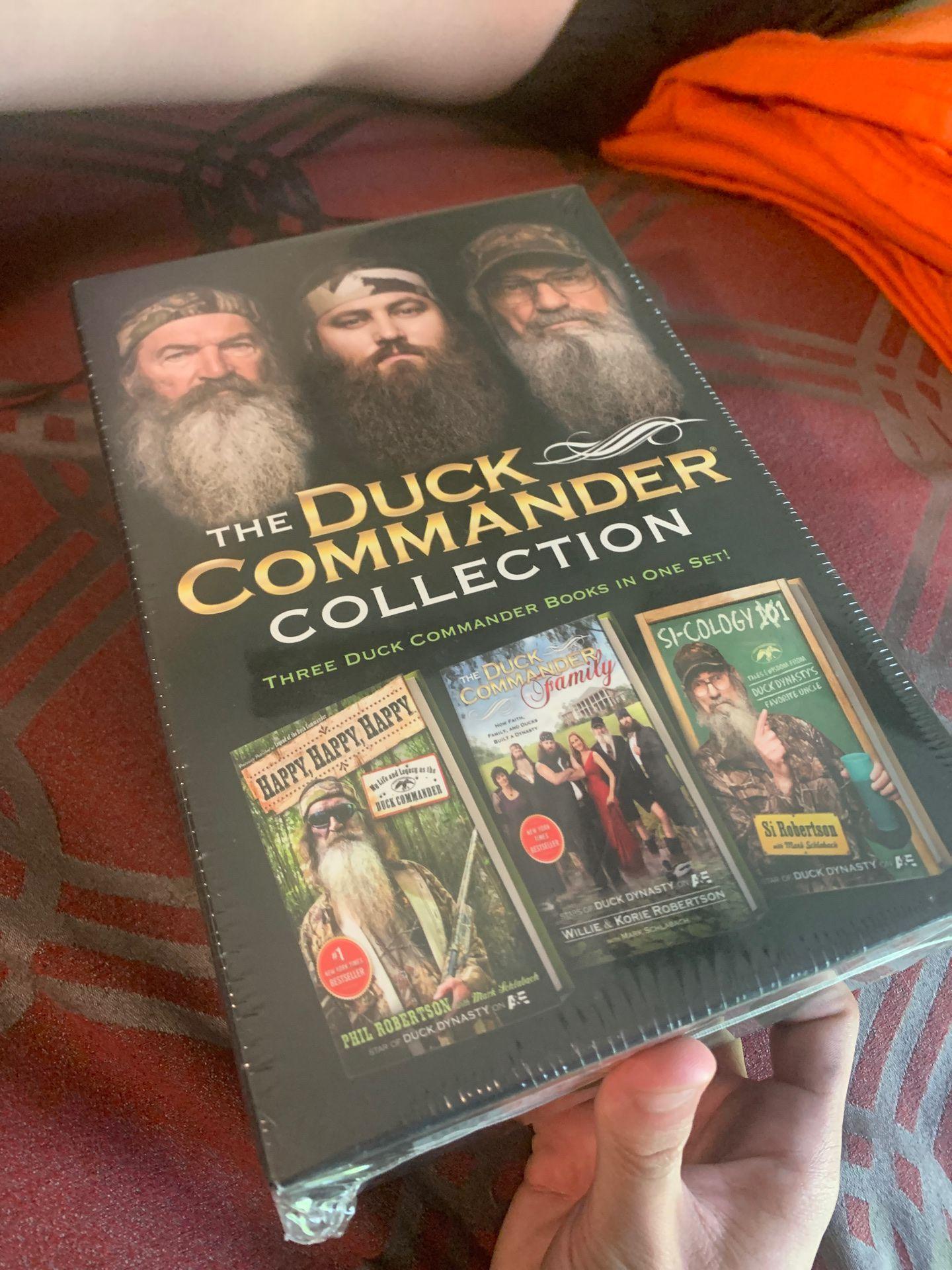 Duck Dynasty Book Set !!!