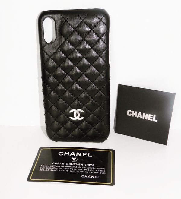 sale retailer 9b7dd 7f1f9 iPhone X phone case (CHANEL) for Sale in Charlotte, NC - OfferUp