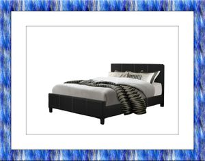 King platform bed with free mattress and delivery for Sale in McLean, VA