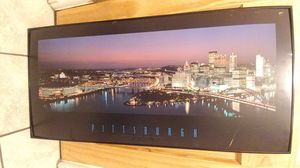 Framed photo of Pittsburgh for Sale in Harrison City, PA