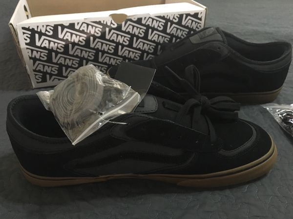 1cf42a4fb7 Vans men 13 Black Rowley Pro skate shoes for Sale in Fountain Valley ...