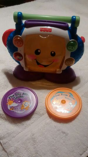 Toy Fisher Price mini CD player for kids for Sale in Owings Mills, MD