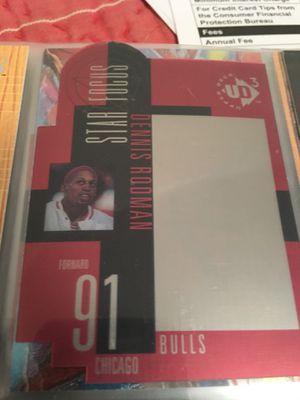 2 Dennis Rodman Basketball Cards!! 2 Free Scottie Pippen Card included!! for Sale in Atlanta, GA