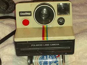 Photo Vintage Polaroid One Step Land Camera