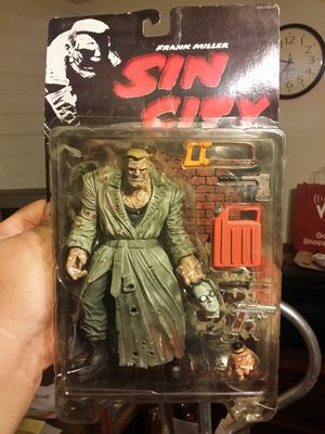 Sin City Marv figures by McFarlane Toys for Sale in Glendale, AZ