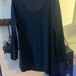 LulaRoe Long Sleeve Black Shirt 64 Thumbnail