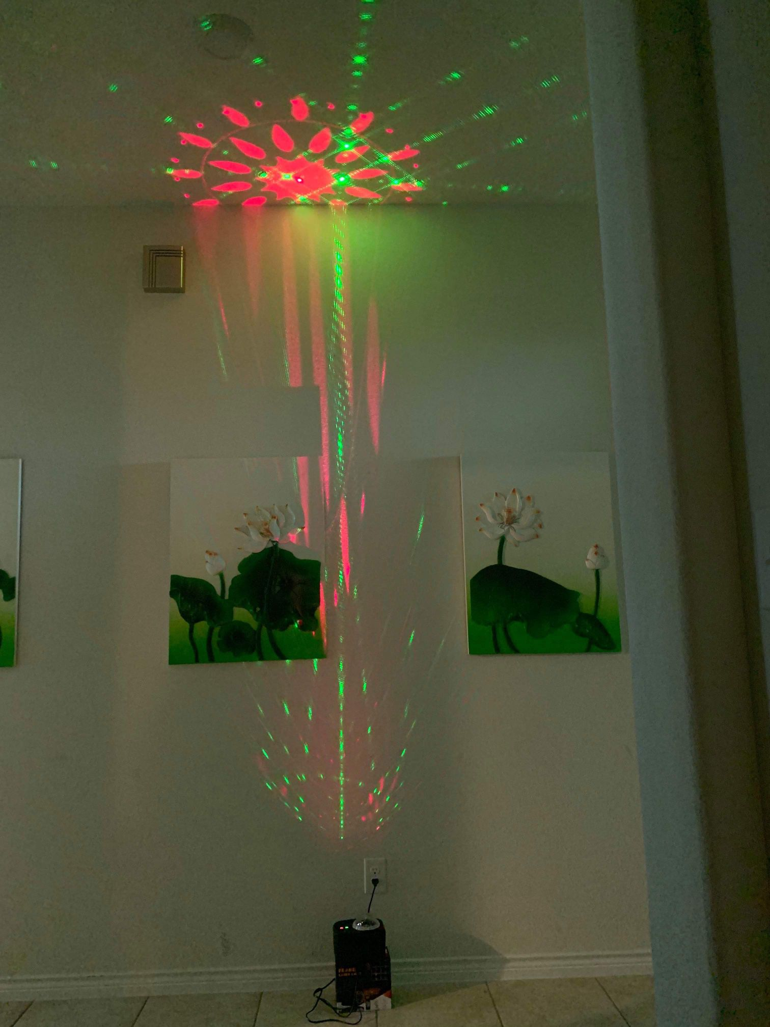 Laser Lights Strobe Disco Ball, Sync with Music