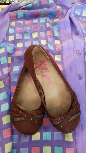 Size 6W/jelly pop shoes for Sale in Martinsburg, WV