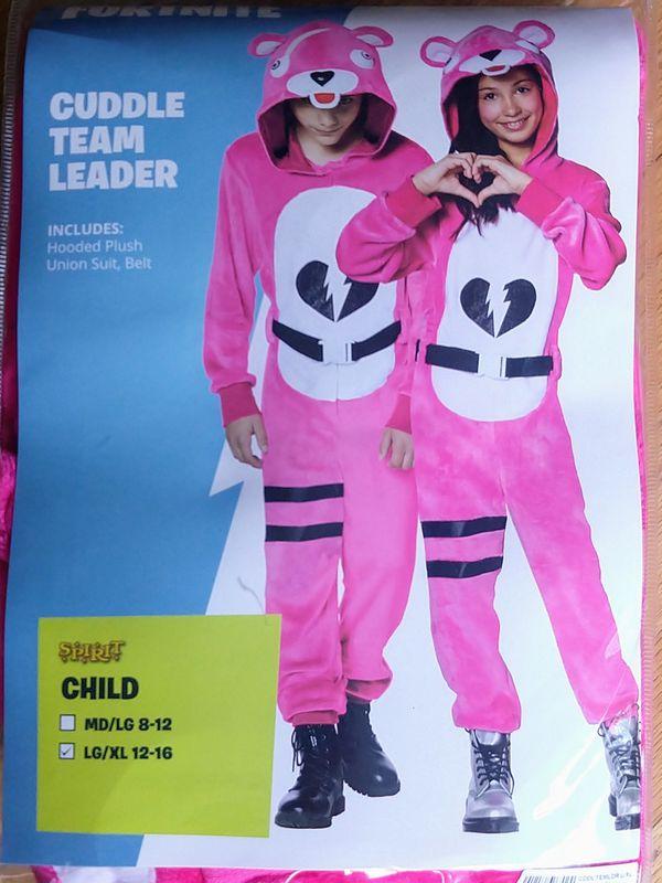 Spirit Halloween Fortnite Costumes For Kids.Halloween Fortnite Cuddle Team Leader Costume L Xl For Sale In Fremont Ca Offerup