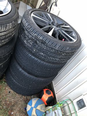 Toyota sport size 19 tries and rim new for Sale in Washington, DC