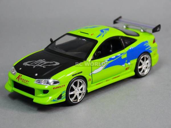 1995 MITSUBISHI ECLIPSE Fast & Furious Model Car - NEW! (Games ...