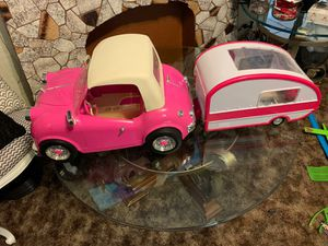 "Photo Our Generation Retro Convertible Car Cruiser fits American Girl Dolls 18"" Dolls"