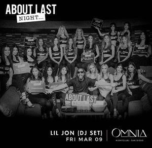 Lil John at Omnia 3/9 for Sale in San Diego, CA