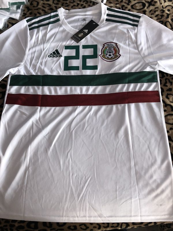 best service 173b1 fd88b Mexico white chucky Lozano jersey 2018 for Sale in Compton, CA - OfferUp
