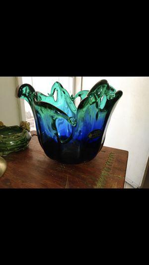 Photo Murano Italian Glass Bowl