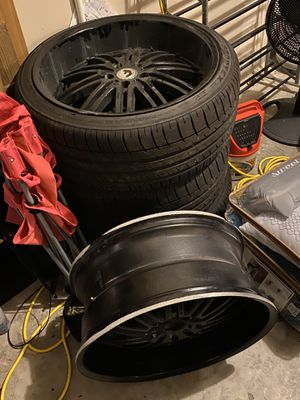 """Photo 22"""" tires need gone NOW"""