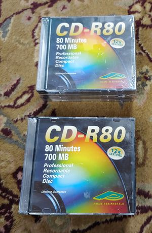 New CD-R80 Total Of 20 for Sale in Graham, NC