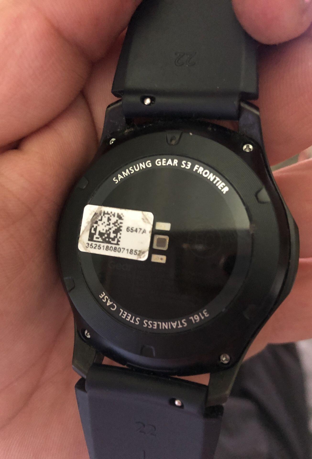 Samsung s3 frontier .