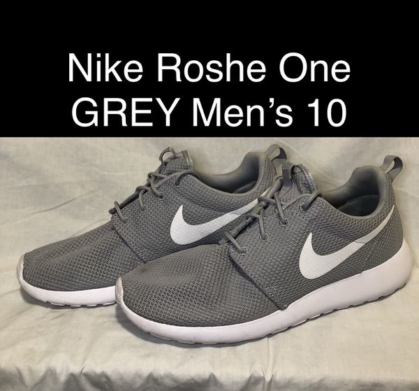 best sneakers a54d2 746d3 Grey Nike Roshe One Shoes Men s Size 10