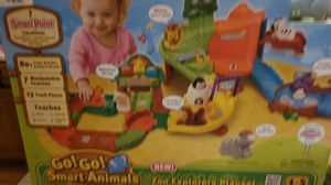 Photo Vtech never opened go go smart animals zoo explorers playset