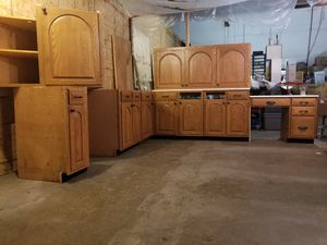 Hand made Kitchen cabinet set well taken care of! for Sale in Waynesboro, VA