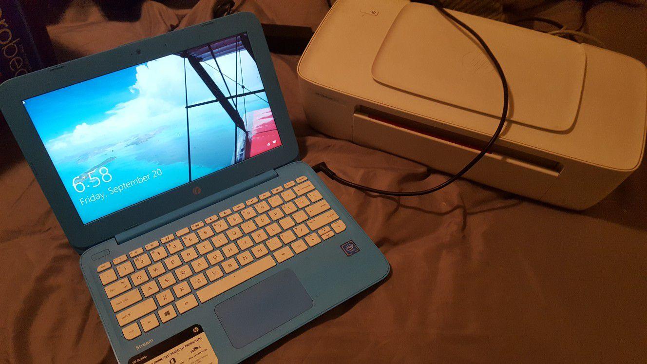 4 GB 11.6 IN HP laptop