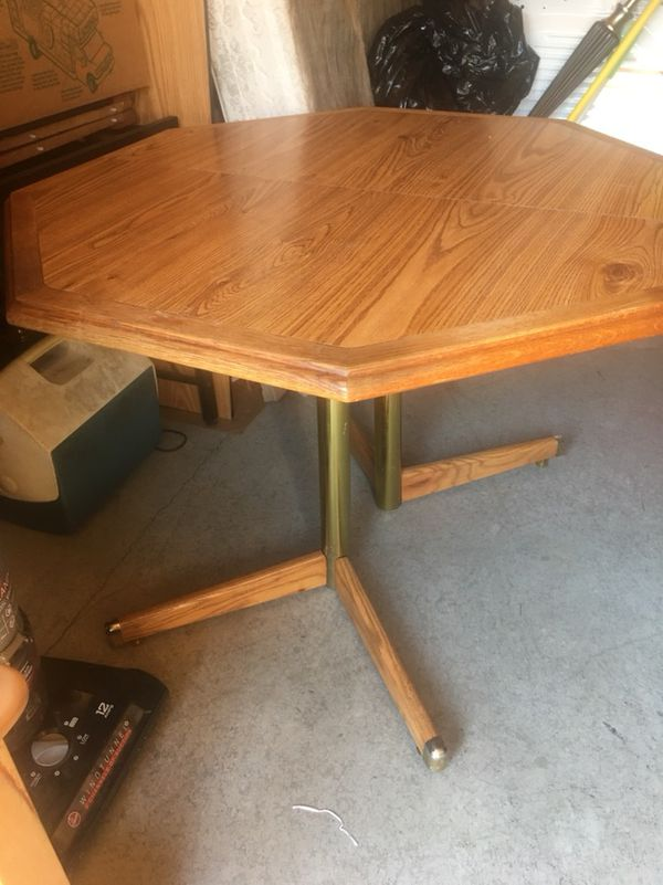 Octagon Shape Dining Table For Sale In Amelia OH OfferUp - Octagon shaped dining table