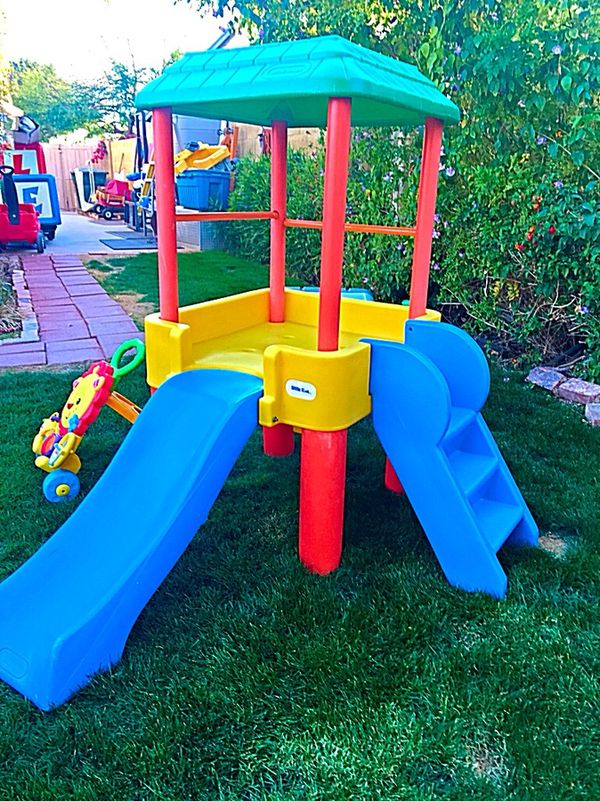 Little Tikes Toddler Climber With Slide Thomas The Train Table Chairs And Fisher Lion Walker Playset For In Glendale Az Offerup