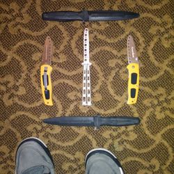 Training Knives, Benchmade, Ronin Gear, And Rubber Training Boot Knives. Thumbnail