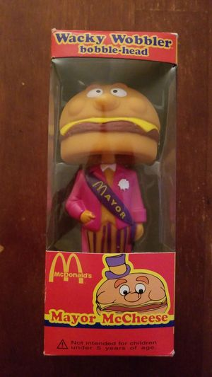 Mayor McCheese Collectible Bobblehead Toy with Box for Sale in Clermont, FL