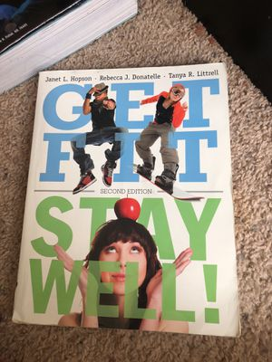 PED 116 college text book get fit stay well for Sale in Manassas, VA