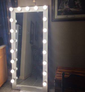Full Body Vanity Mirror With Lights For Sale In San Antonio Tx