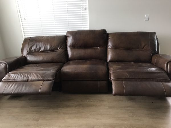 Leather Sofa for sale for Sale in Portland, OR - OfferUp