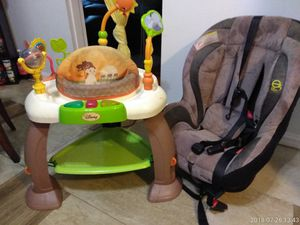 Disney Lion King Jumperoo And Evenflo Car Seat For Sale In St Louis MO
