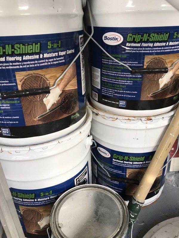 Bostik Grip N Shield Hardwood Flooring Adhesive Pegamento Para