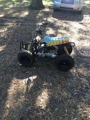 50 cc 2 stroke kick start kids atv 4 wheeler - runs excellent! for Sale in Groveland, FL
