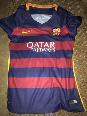 4430a76d18c Barcelona women jersey size M for Sale in Chula Vista