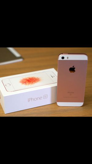 Rose gold iPhone SE for Sale in Springfield, VA