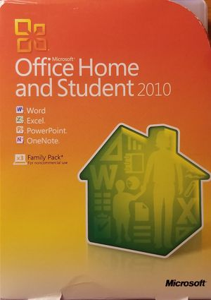 Microsoft Office Home and Student 2010 for Sale in Austin, TX